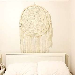 Large Crochet Dream Catcher