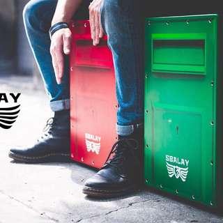 ✨3D郵筒造型 木箱鼓
