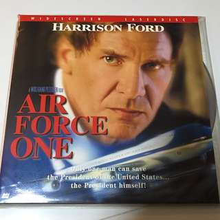 Air Force One Laser Disc