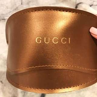 Gucci Sunglasses With Case