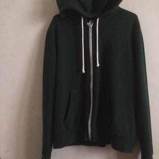 H&M Hoodie Dark Green