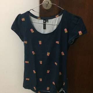 Fries T-shirt (cotton on)
