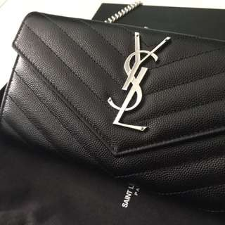 BN YSL Wallet On Chain Silver