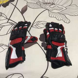 Female Leather Riding Gloves