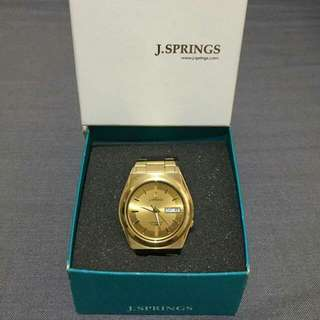 Seiko's J-Springs Automatic Watch