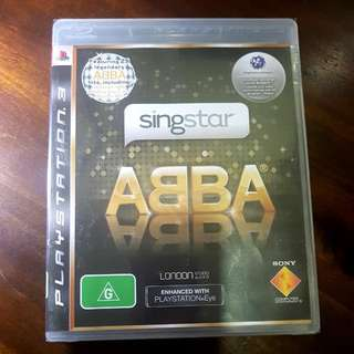 Singstar Abba PS3 Game
