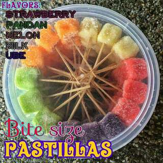 Bite Sized Pastillas