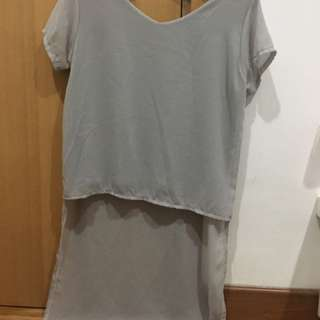 Long Grey Tshirt