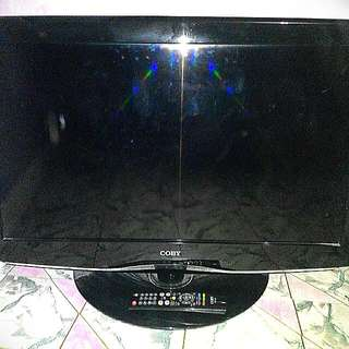 """REPRICED!  COBY 32"""" LED TV & FILA SHOES"""