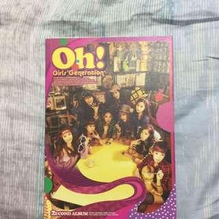 SNSD album Oh!