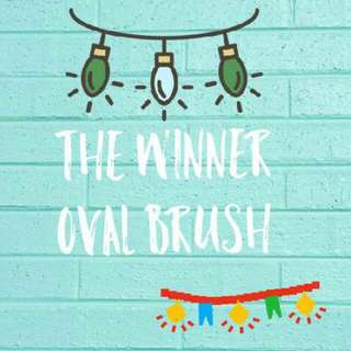 THE WINNER OVAL BRUSH