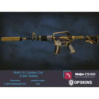 M4A1-S Golden Coil FT