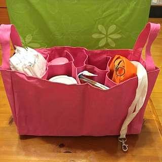 分隔收納包 可掛嬰兒推車