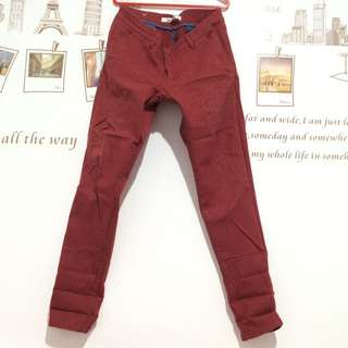 Red Long Jeans From Hardware