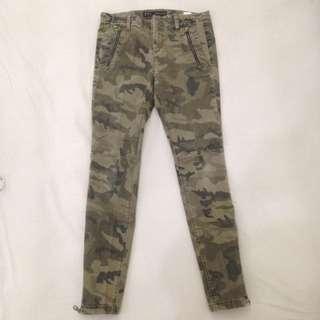 Zara Army Camouflage Pants (Size 38, M fit)