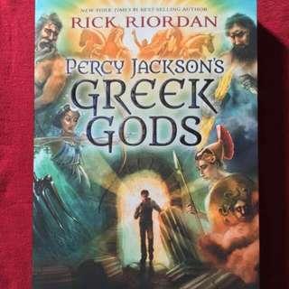 Percy Jackson's Greek Gods with Free Ebooks