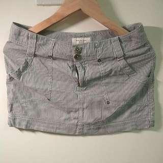 NET 細條紋短裙