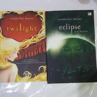 Twilight & Eclipse NOVEL