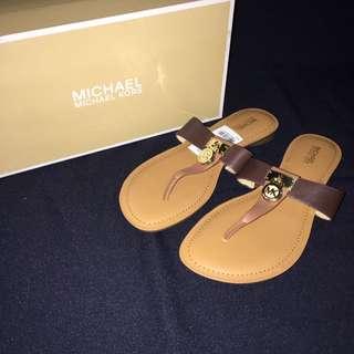 Michael Kors Hamilton Flat Sandals