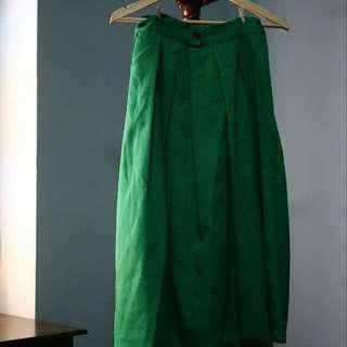 行星🌟草綠色長裙