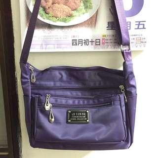 紫色休閒包