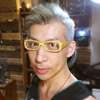 🚚 仿木紋膠框眼鏡