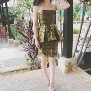 Set Batik ( Baju Peplum + Rok )