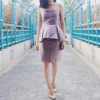 Batik Set ( Baju Peplum + Rok )
