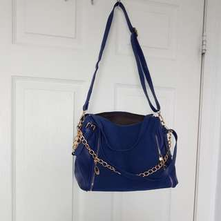 Royal Blue Shoulder Bag
