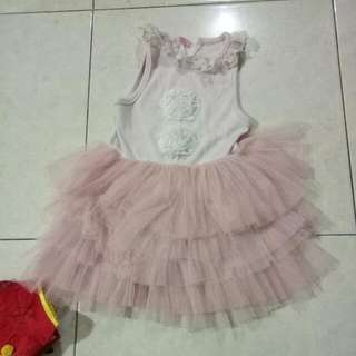 Dress Cewe Ballet