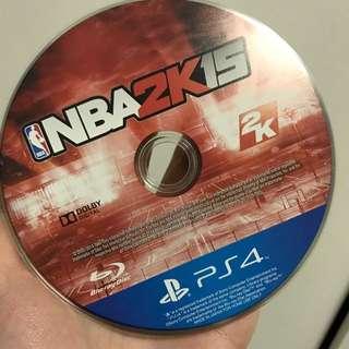 NBA2K15 PS4遊戲片