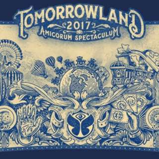 Tomorrowland 2017 Weekend 2 Full Madness Pass (4 Tickets)