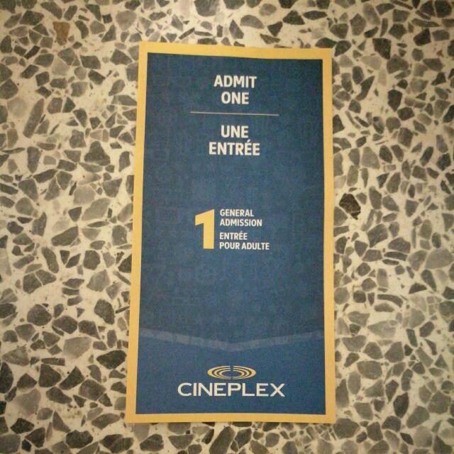 $7 Cineplex General Admission