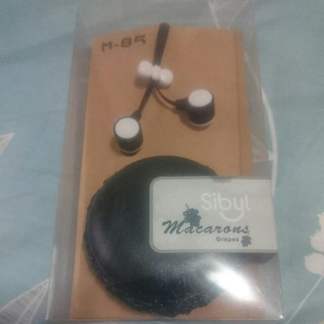 馬卡龍耳機(黑)