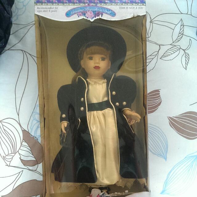不負責任古董限量陶瓷娃娃