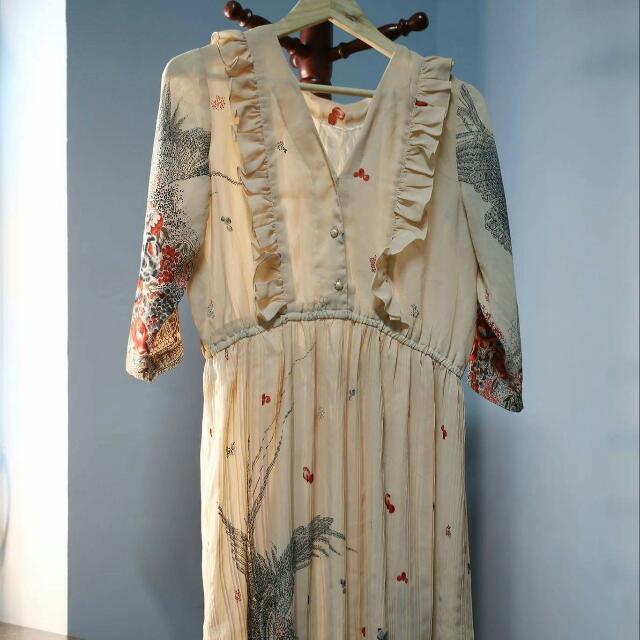 古著👗洋裝長裙