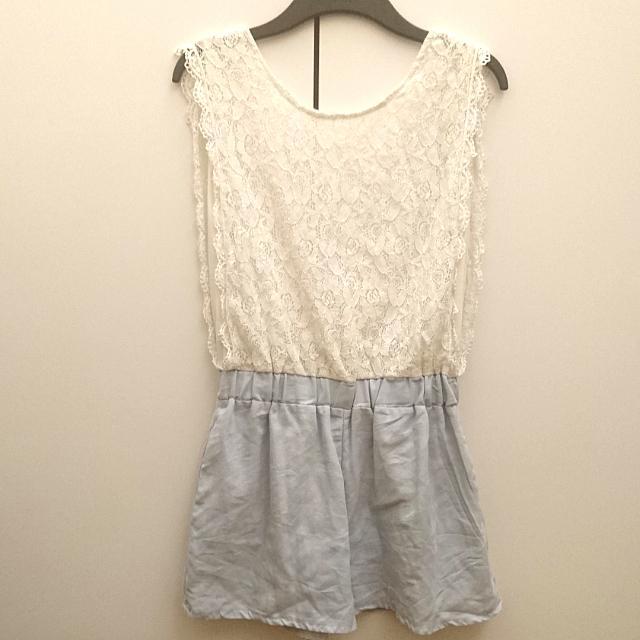 蕾絲連身褲 兩面都可以穿哦❤ #二百元短褲 #我的女裝可超取