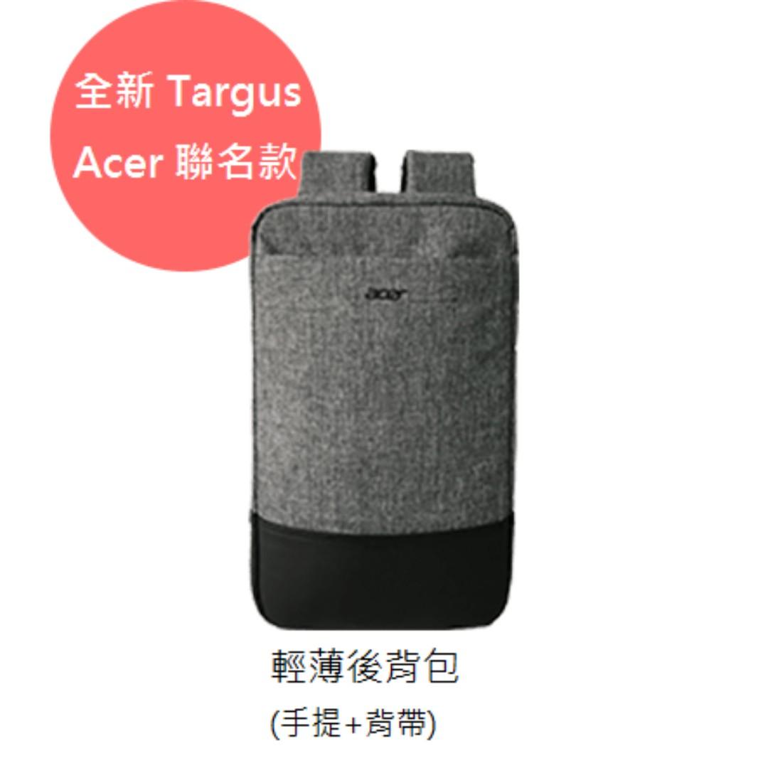 全新未拆封 - Targus 輕薄電腦背包(手提+背帶) _ Acer 聯名款