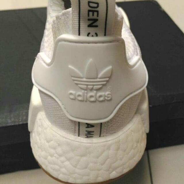 Adidas NMD Runner PK (triple White) ORIGINAL