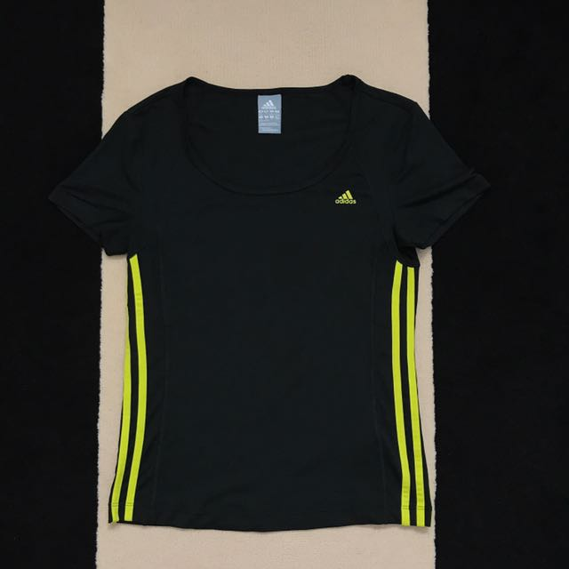 Adidas Short Sleeve Black top Size Small #EOFYSALE