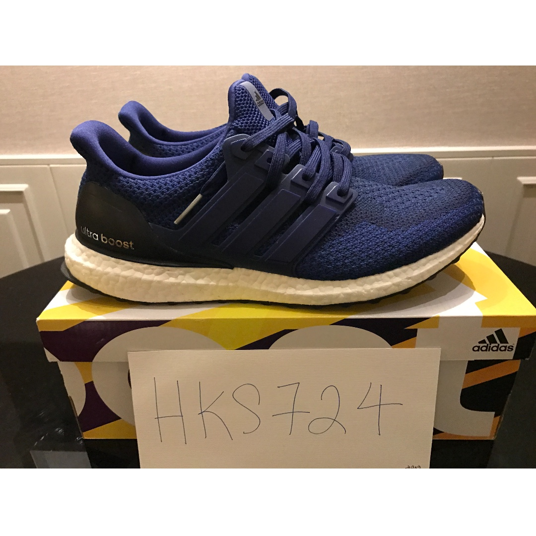 dc71ccaf3 Adidas Ultra Boost Ultraboost 2.0 NAVY VNDS triple black trace cargo ...