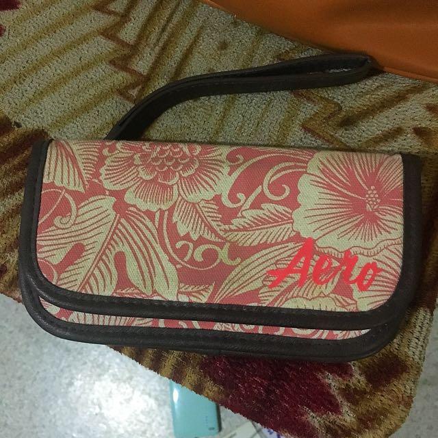 Aero Floral Wallet