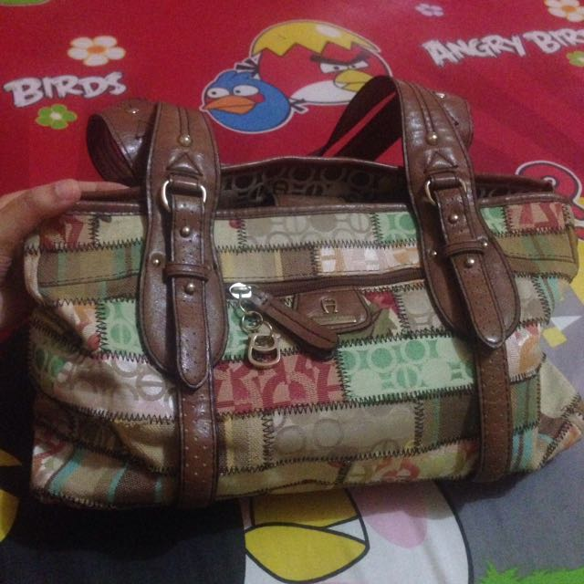 aigner bag style 30222X color multipactwork famul
