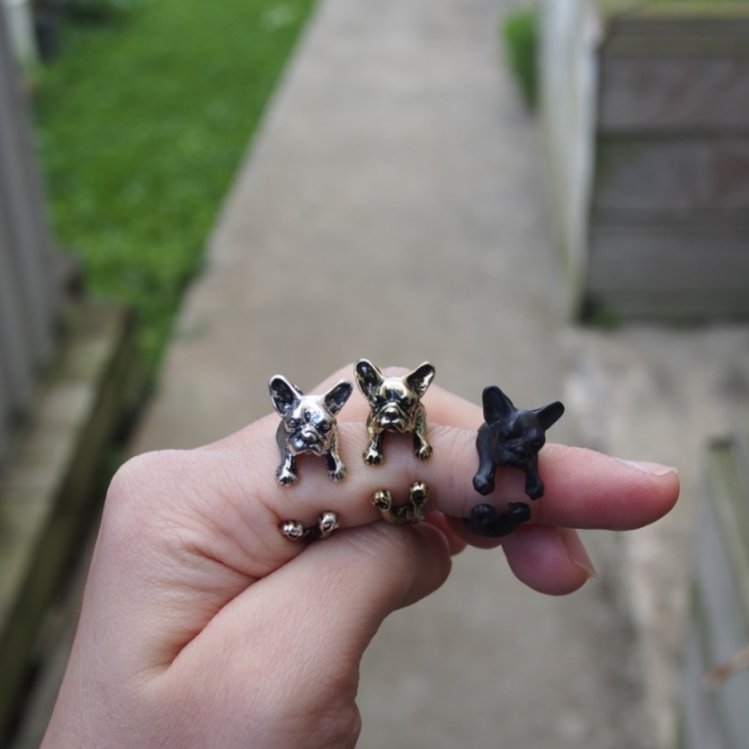 Antiques Frenchbull Ring