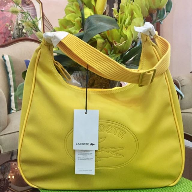 Authentic Lacoste Boho Bag with tag