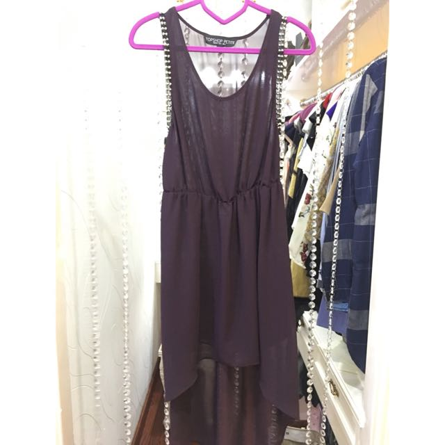 Authentic Topshop Dress With Silver Studs