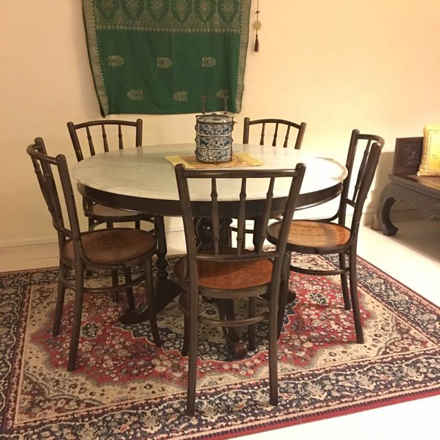 Beautiful Kopitiam Dining Table Furniture Home Decor Antiques On Carousell