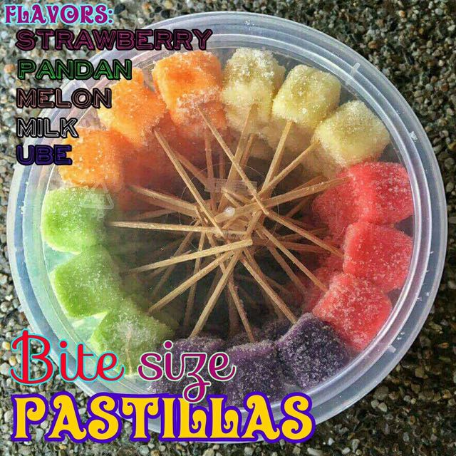 Bite Sized Pastillas