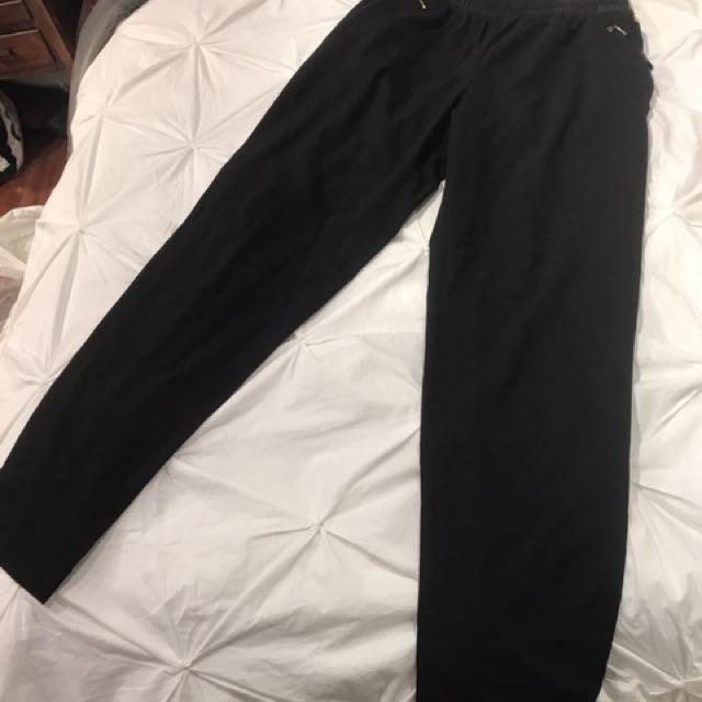 Black Zara Ankle Pant (S)
