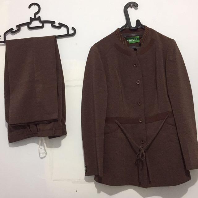 Blazer + Celana Set
